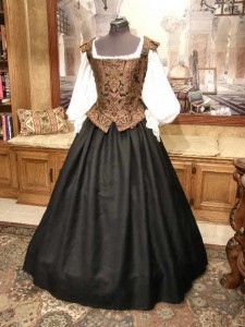 Renaissance Elizabethan Dress Middle Class or Merchant Gown Costume Clothin