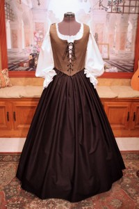Black & Gold Bodice Ensemble 6
