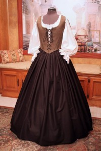 Black & Gold Bodice Ensemble 7