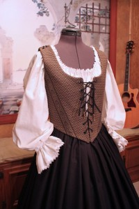 Black & Gold Bodice Ensemble 8