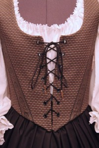 Black & Gold Bodice Ensemble 9