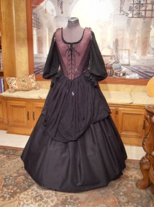 Medieval Renaissance Gothic Wench Witch Bodice Corset Skirt Gown Dress Costume
