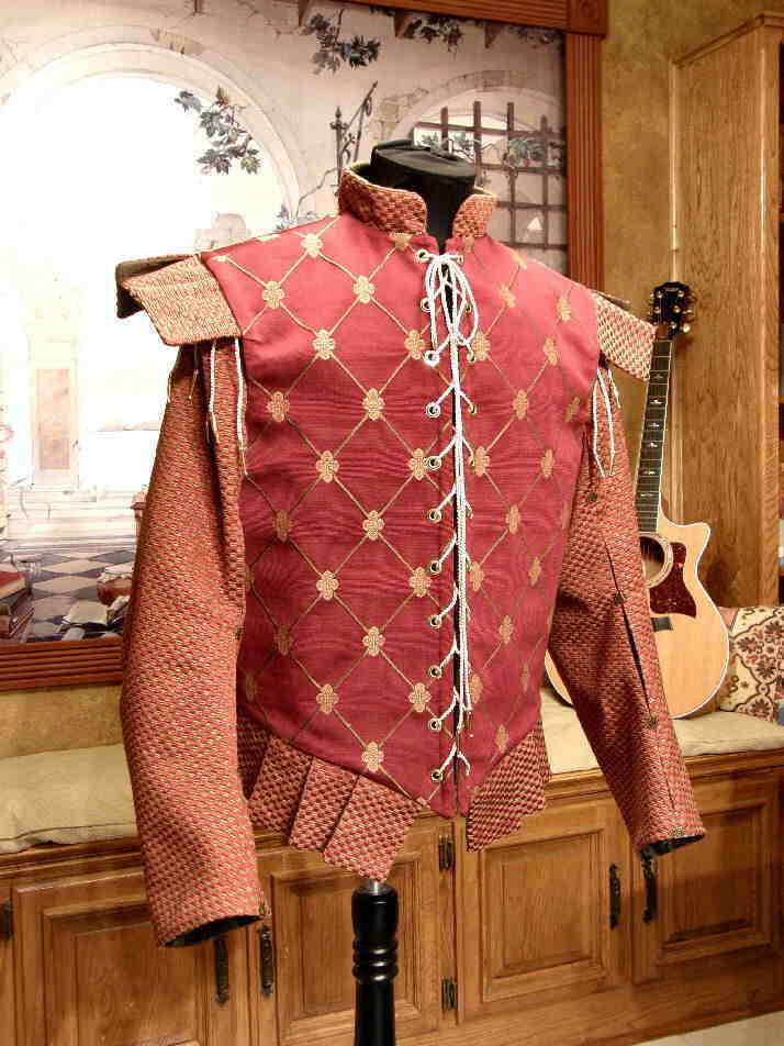 The Debonair Doublet Faire Finery