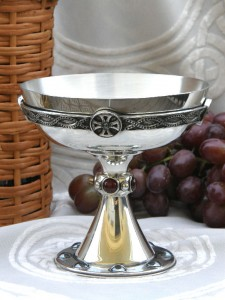 Chalisbury Grail cabochon goblet cup celtic mug