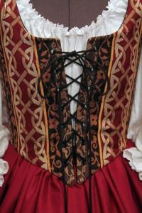 Celtic Burgundy and Black 5