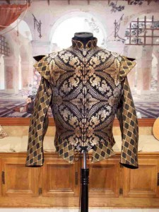 Men's Renaissance Elizabethan Doublet Jerkin Vest