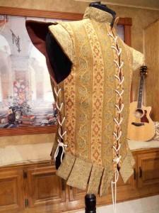 Men's Renaissance Doublet Reversible Cavalier Pirate Nobleman