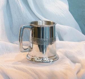Small half pint celtic tankard wine cup