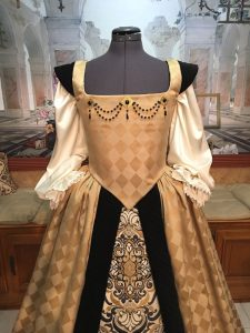 Harlequin Gown 4