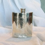 Celtic Kidney Pewter Flask