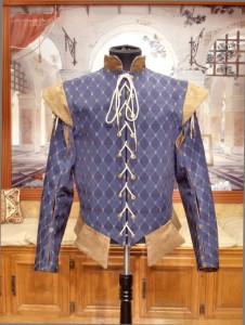 Renaissance Elizabehan Doublet Cavalier Jerkin Vest Jacket
