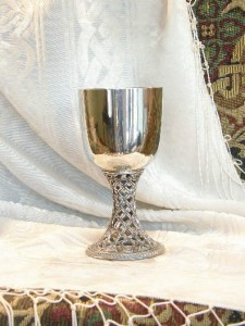 Celtic Pewter Goblet Chalic Wine Cup