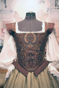 Renaissance Gown Dress Plum