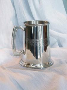 Celtic Pewter Tankard Mug Cup
