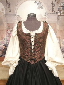 Pirate Wench Bodice and Skirt