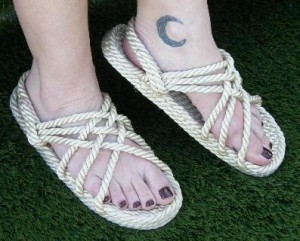 Peasant Rope Sandals