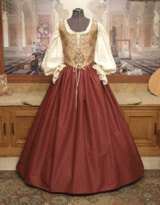 Renaissance Wench Bodice and Skirt