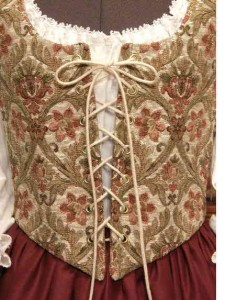 Renaissance Wench Bodice Skirt Dress Gown