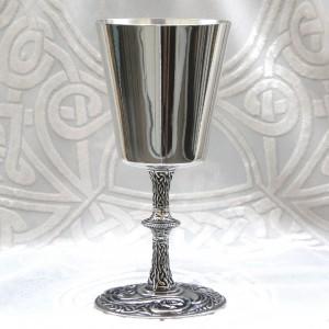St, Aidensware celtic goblet chalice Renaissance Medieval mug