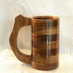Wooden Tankard Mug Cup